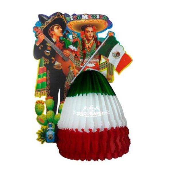 Adorno Fiesta Mexicana de Papel Picado