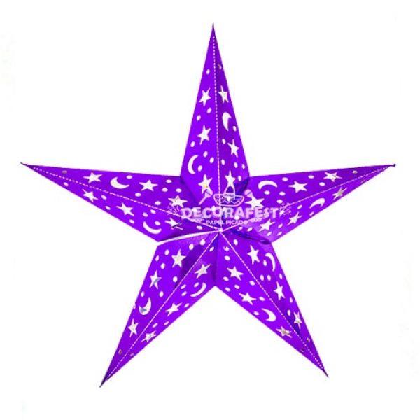 Estrella de Plastico Picado