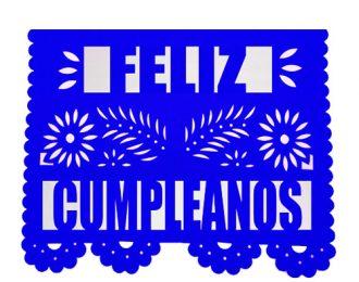 Papel Picado Feliz Cumpleaños