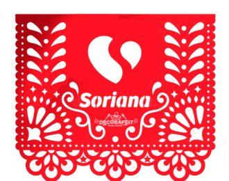 Papel Picado con Logotipo