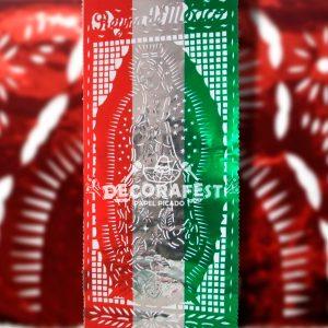 Papel Picado Virgen Guadalupe