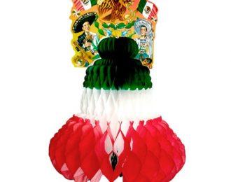 Campana Tricolor de 50 cm
