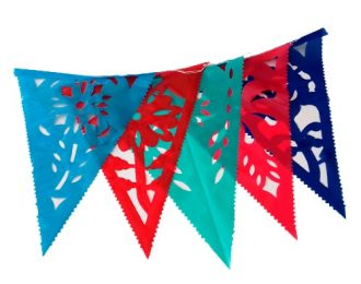 Banderines Papel Picado