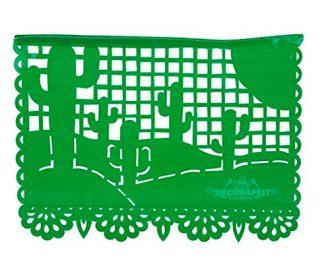 Papel Picado Cactus