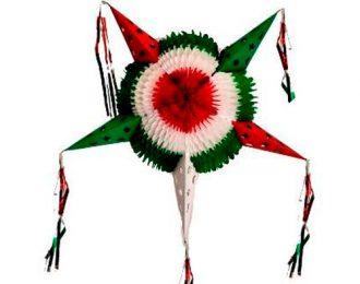 Piñata Tricolor Plegable