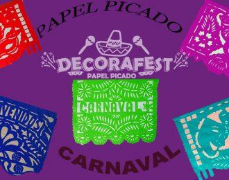 Papel Picado, plástico carnaval