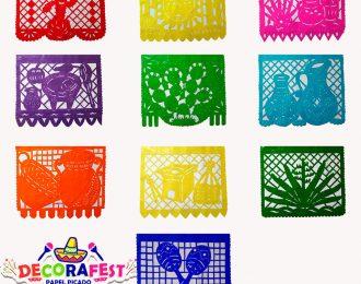Enramada de Plástico Picado mexicano