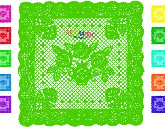 Mantel De Mesa cuadrada, pack de 10 piezas